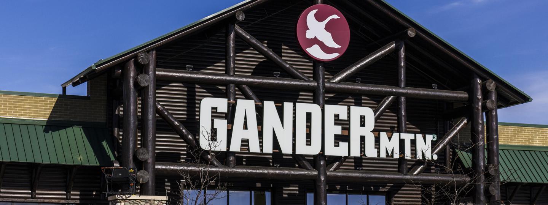Gander Mtn. storefront