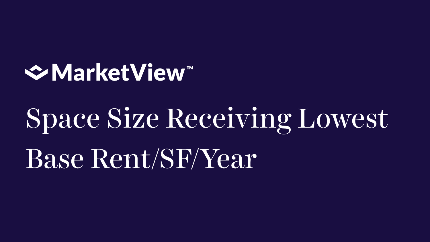 Space Size Receiving Lowest Base Rent per SF per Year in New York, San Francisco, Houston, London
