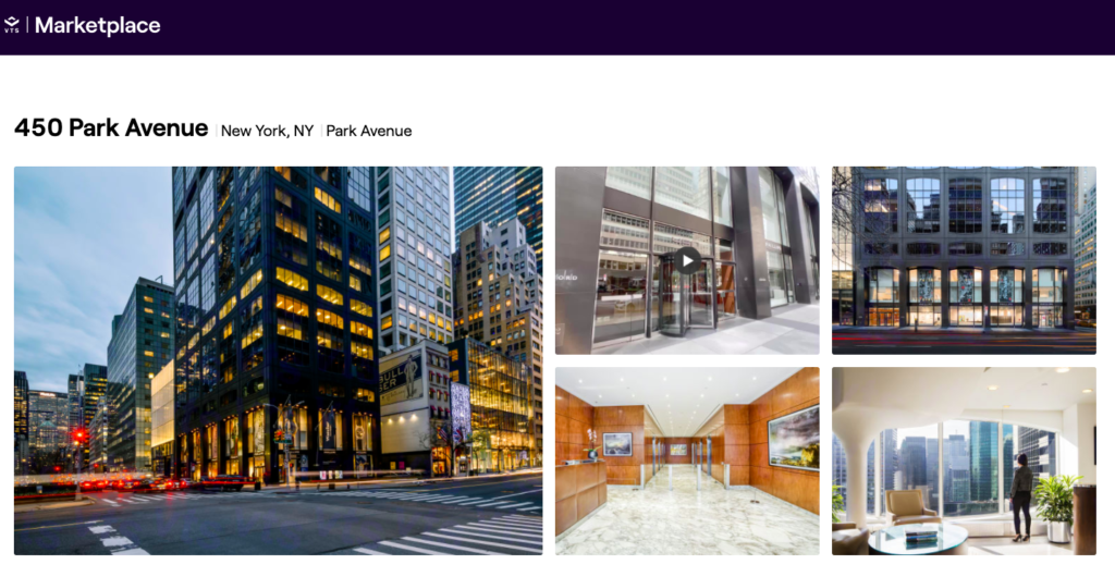 Oxford Properties Group's 450 Park Avenue building, New York City
