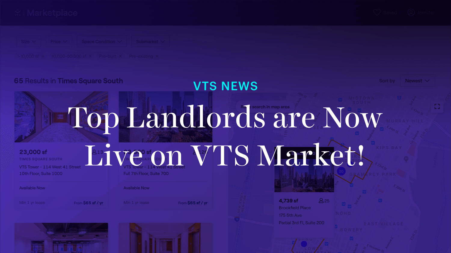 Top Landlords are Now Live on VTS Market!