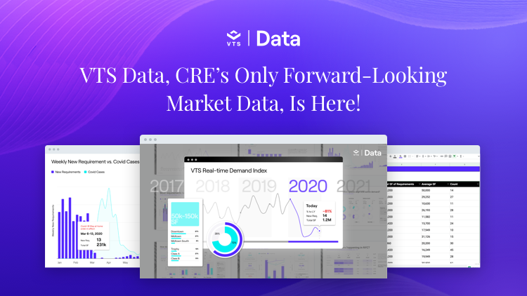 VTS Data, CRE's Only Forward-Looking Market Data, Is Here!