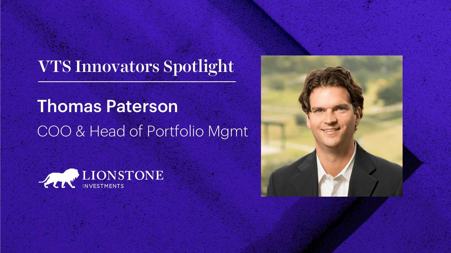 Lionstone Investments COO Tom Paterson on Modernizing Leasing for a Post-COVID World
