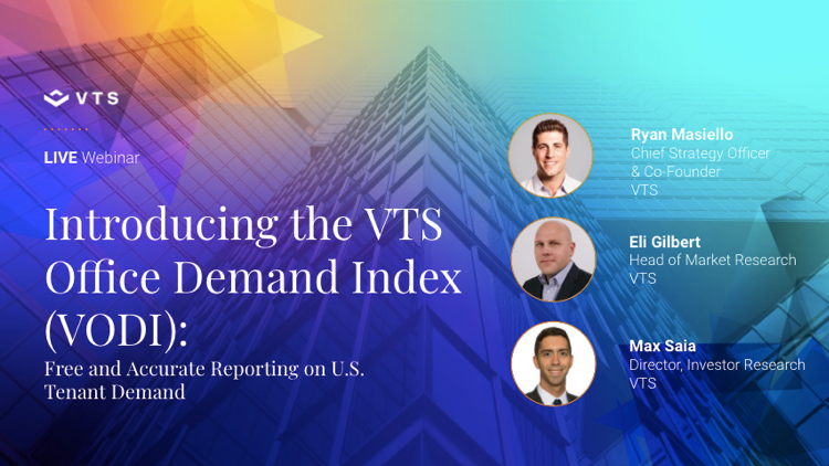 Introducing the VTS Office Demand Index - Free and Accurate Reporting on U.S. Tenant Demand