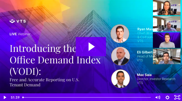 Introducing the VTS Office Demand Index: Free and Accurate Reporting on U.S. Tenant Demand