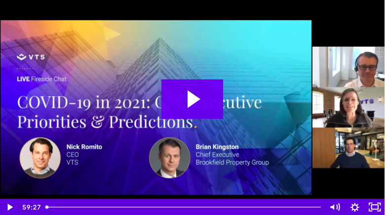 COVID-19 in 2021: CRE Executive Priorities & Perspectives