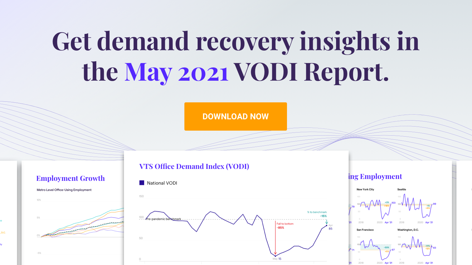 05.26.21 Demand for Office Space Continues with Steady Upward Momentum Nationally