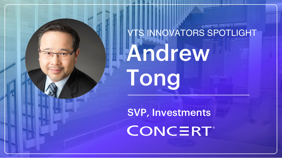 Andrew Tong, SVP at Concert Properties on Data Analytics, Tenant Relationships, and Sustainability in the Industrial Sector