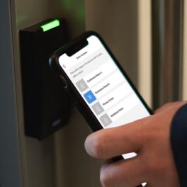 Modern building access control