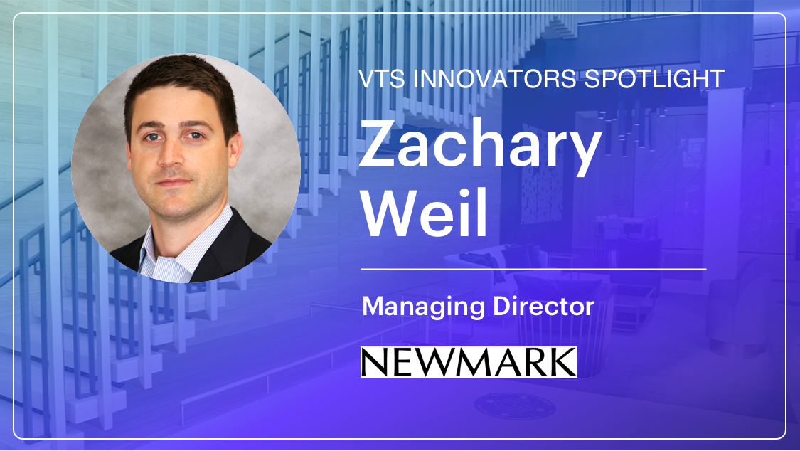 Newmark's Zachary Weil on Using Tech to Help Bring Employees Back to the Office Post-COVID
