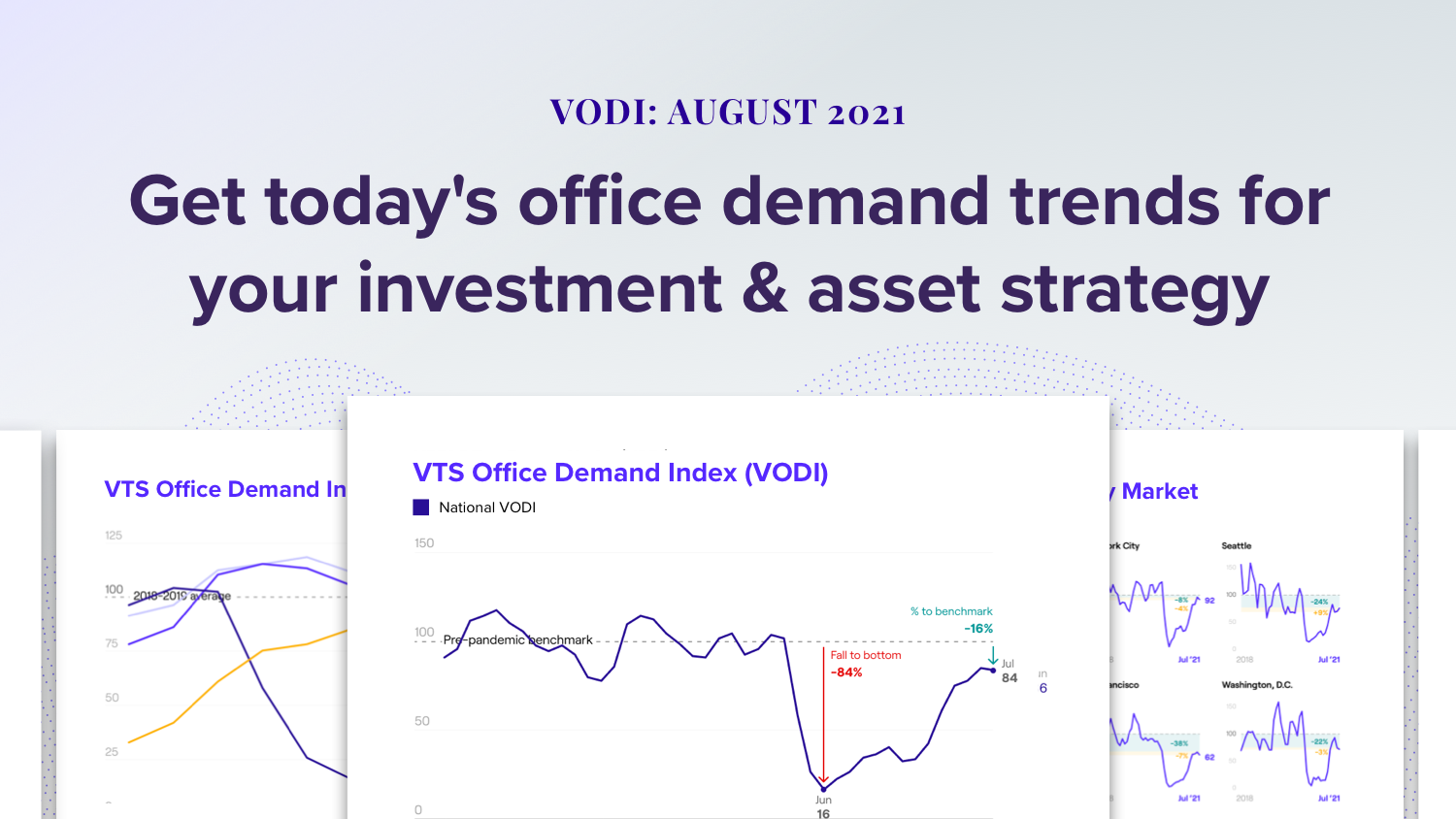 Uncertainty Over the Delta Variant and Seasonality Slow New Demand for Office Space